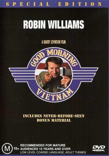 Good-Morning-Vietnam-DVD-Brand-New-Aus-Region-4