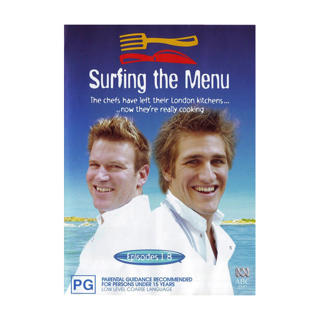 Surfing The Menu DVD 2 Disc Box Set Brand New Aus Region 4