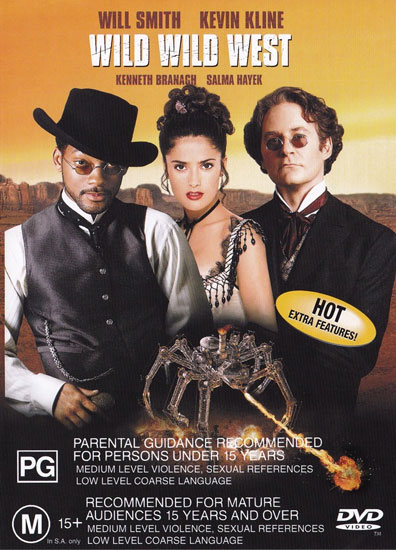 Wild-Wild-West-DVD-Brand-New-Aus-Region-4-Will-Smith-Kevin-Kline